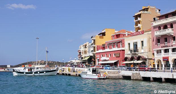 Agios Nikolaos havn