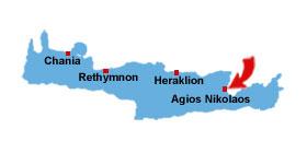 Agios Nikolaos kart