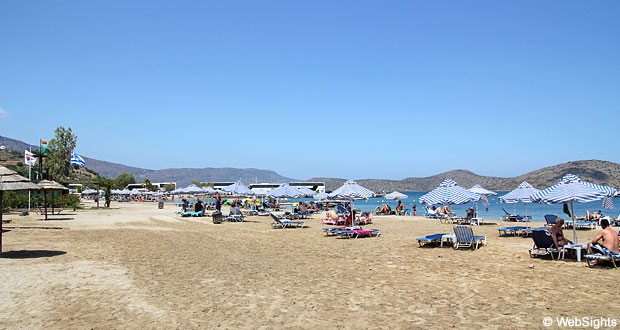 Elounda strand