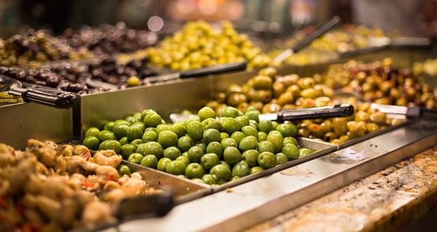 Kreta marked oliven