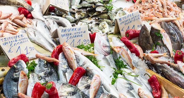 Marked fisk