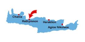 Rethymnon kart