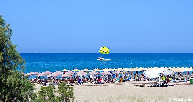 Rethymnon strand